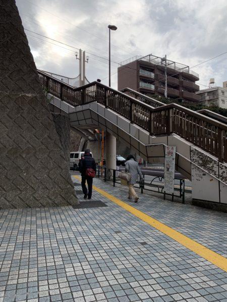 アンフロッカスカフェ 田端駅からの行き方