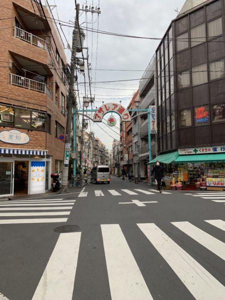 駒込駅商店街